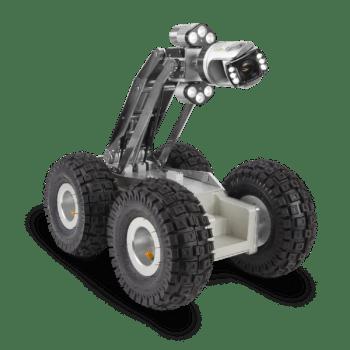Fahrwagen mit Ballonrädern und CAM028 Zoom-Kamera