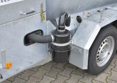 Sauganhänger - Ölabscheider