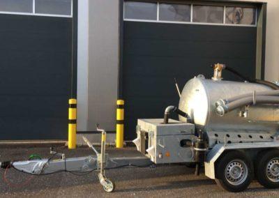 Sauganhänger Kipper hydraulisch